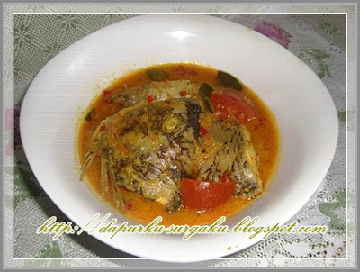 Olahan Ikan Mujair, Resep Masakan Mujair Masak Santan