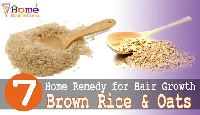 Oats for blackhead treatment and hair growth