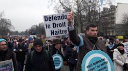Marcha pela Vida em Paris 20 1 2019