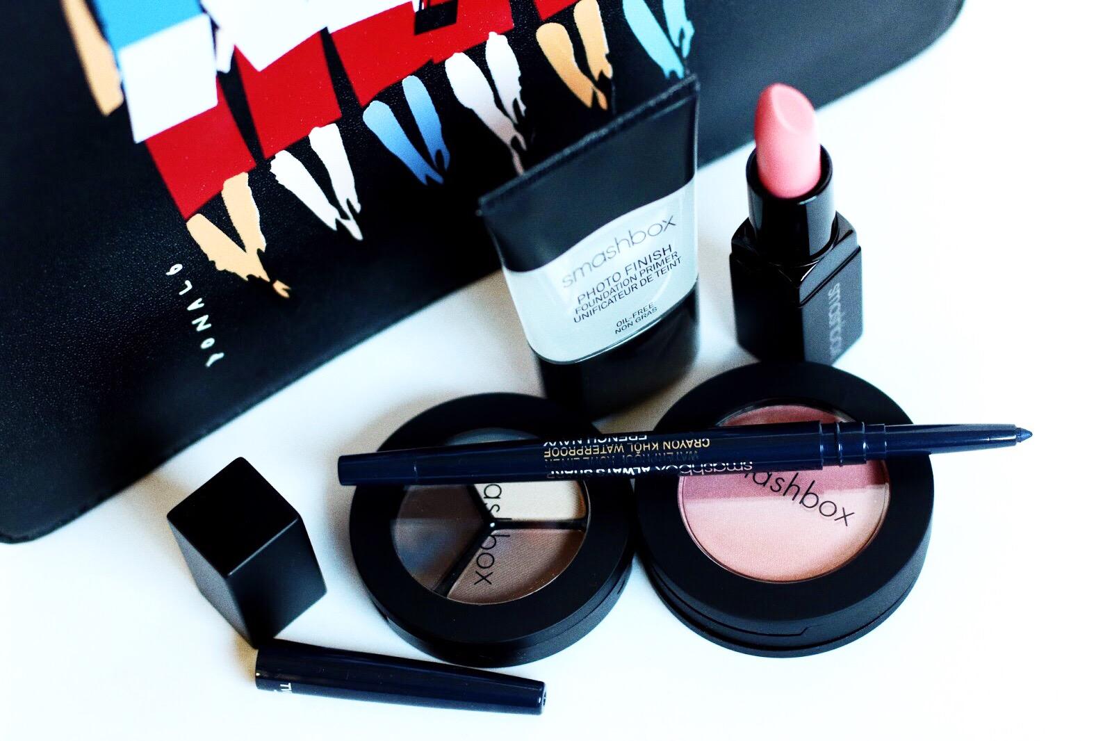 smashbox donald robertson pochette maquillage colette avis test swatches