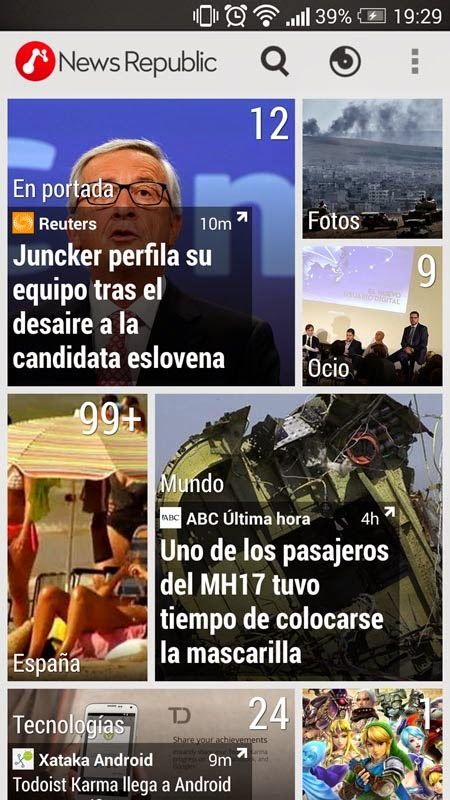 NEWS REPUBLIC : Tus Noticias al Instante