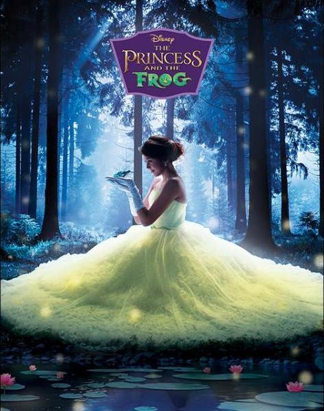 Chalida Vijitvongthong as Tiana in The Princess and the frog
