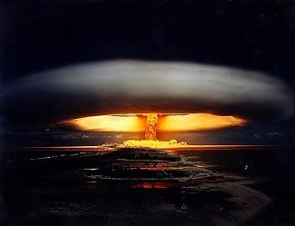Mushroom cloud Nuclear explosion