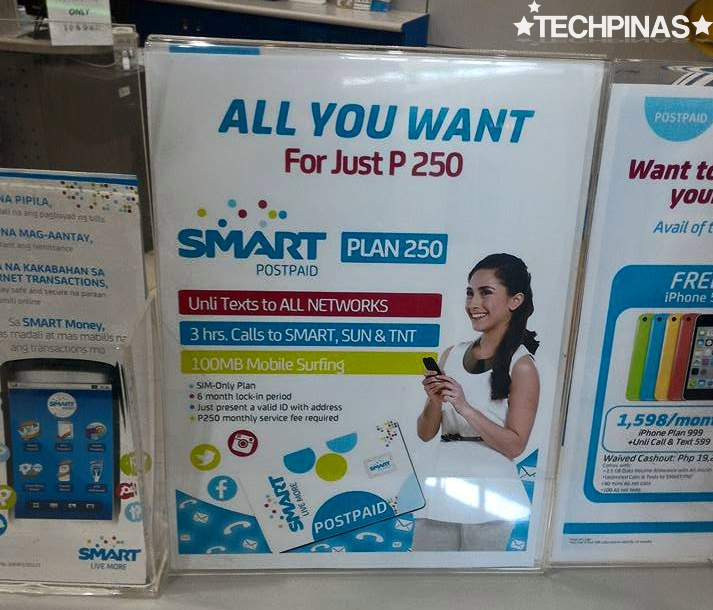Smart Plan 250, Smart Unli All Net Texts