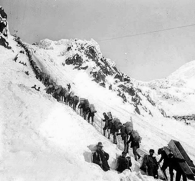 Buscadores de oro a Klondike