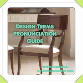 Commona My House Design 101 Terms Pronounciation Guide