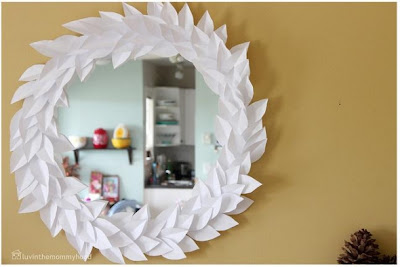 Craft Tutorials Galore at Crafter-holic!: DIY Mirror & Photo Frame ...