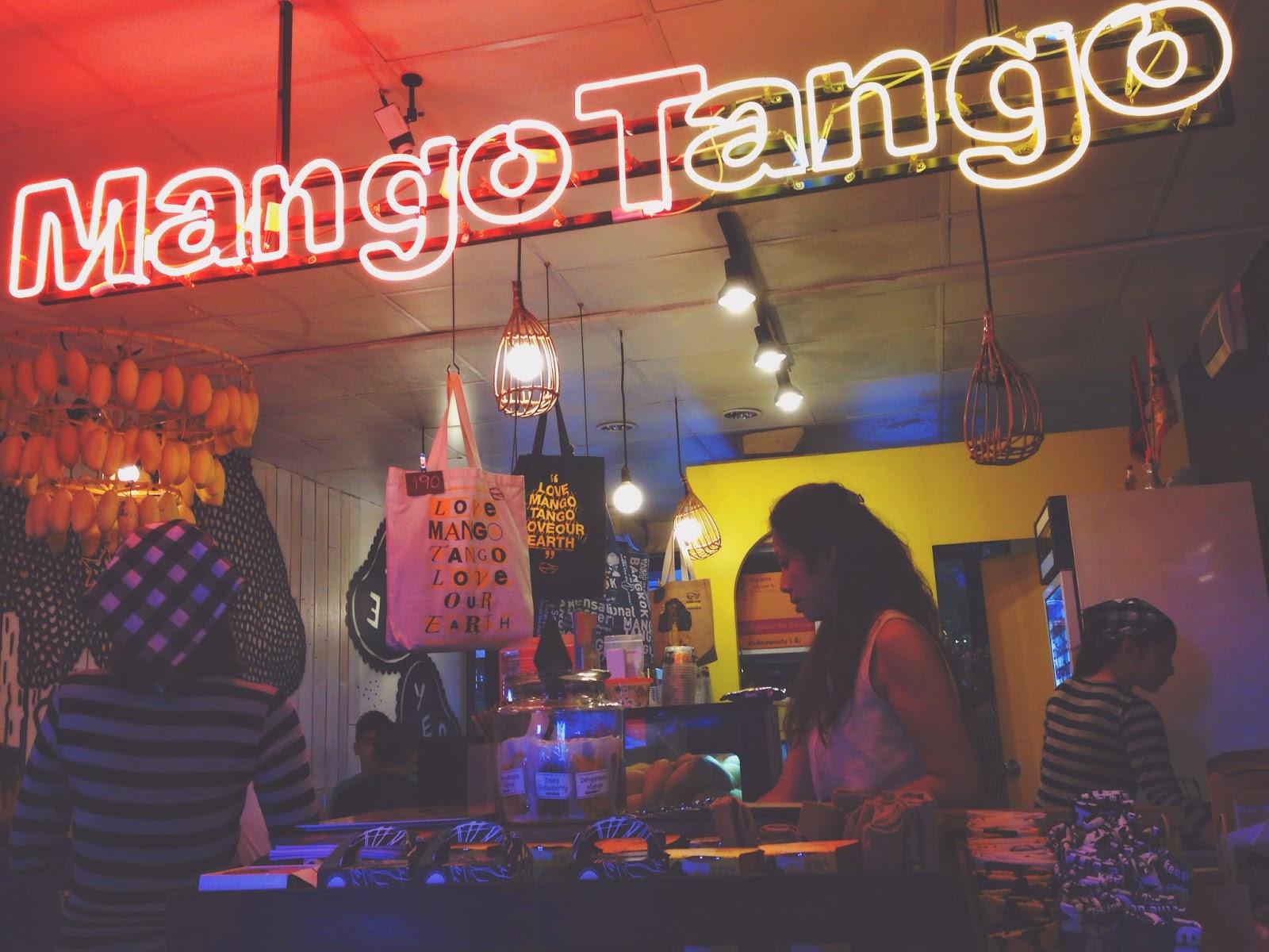 Mango Tango Siam Square Bangkok Interior