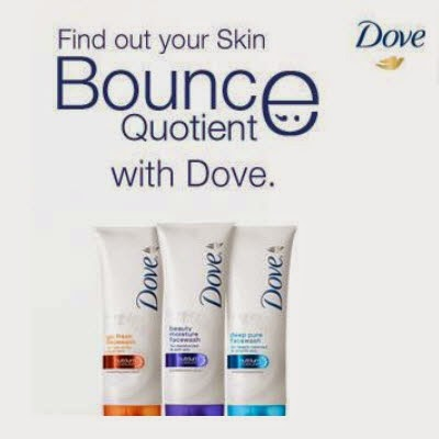Free Dove Face Wash Sample