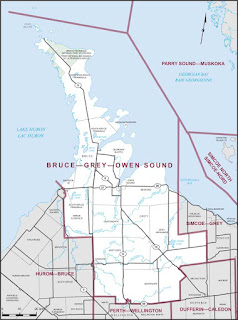 Strategic tactical voting in Bruce-Grey-Owen Sound