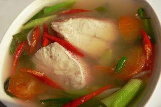 Ikan Kuah Asam Khas Sulawesi Utara