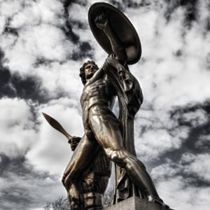 Ecco come accettare se stessi e diventare come Achille, come mostrato in questa statua.