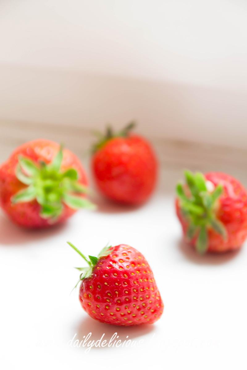 Fresh Strawberry Pastries Near Laguna Beach Ca