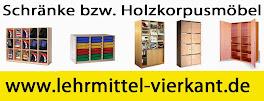 Schrank, Schränke mit Holzkorpus