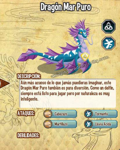 imagen del dragon mar puro y sus caracteristicas