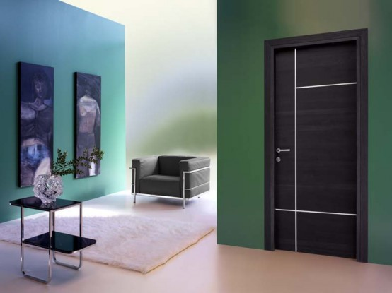 Mostly Modern Interior Doors By Are Smooth Characterized With Very Small Glass Parts Or Even Without Them At All Aluminum As Decorative Finish Could Be