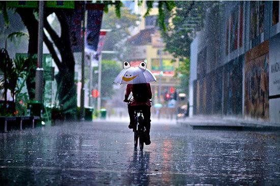 I love rain too