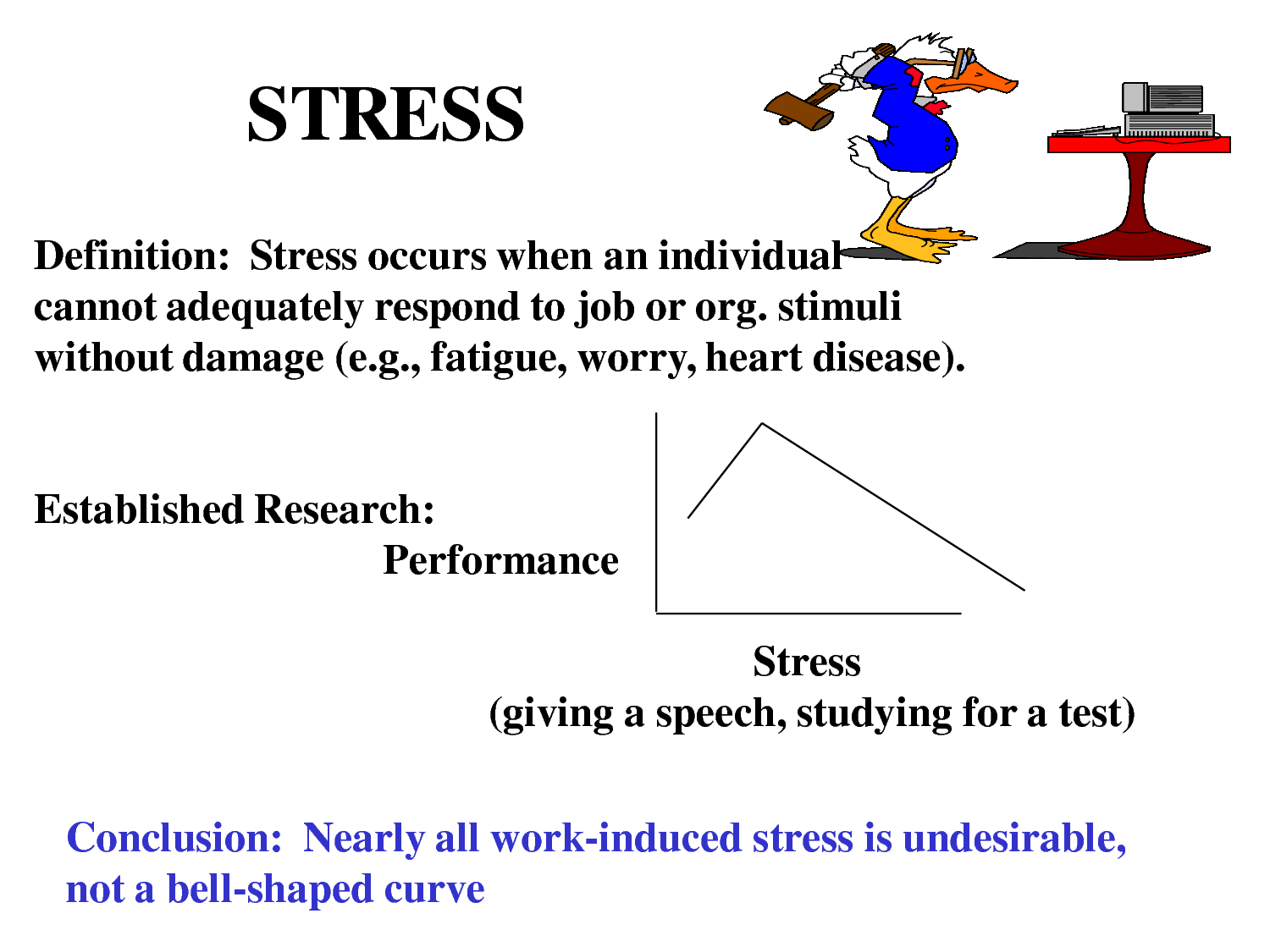 Medical Definition of Stress
