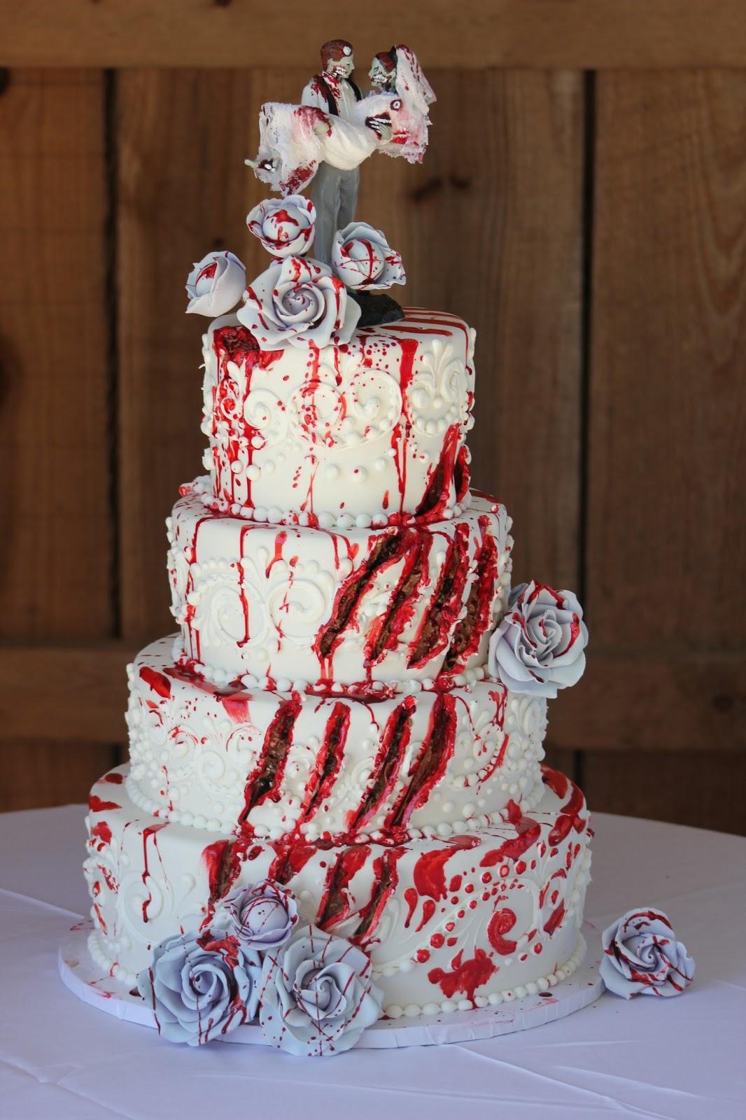 Zombie Gory Cake