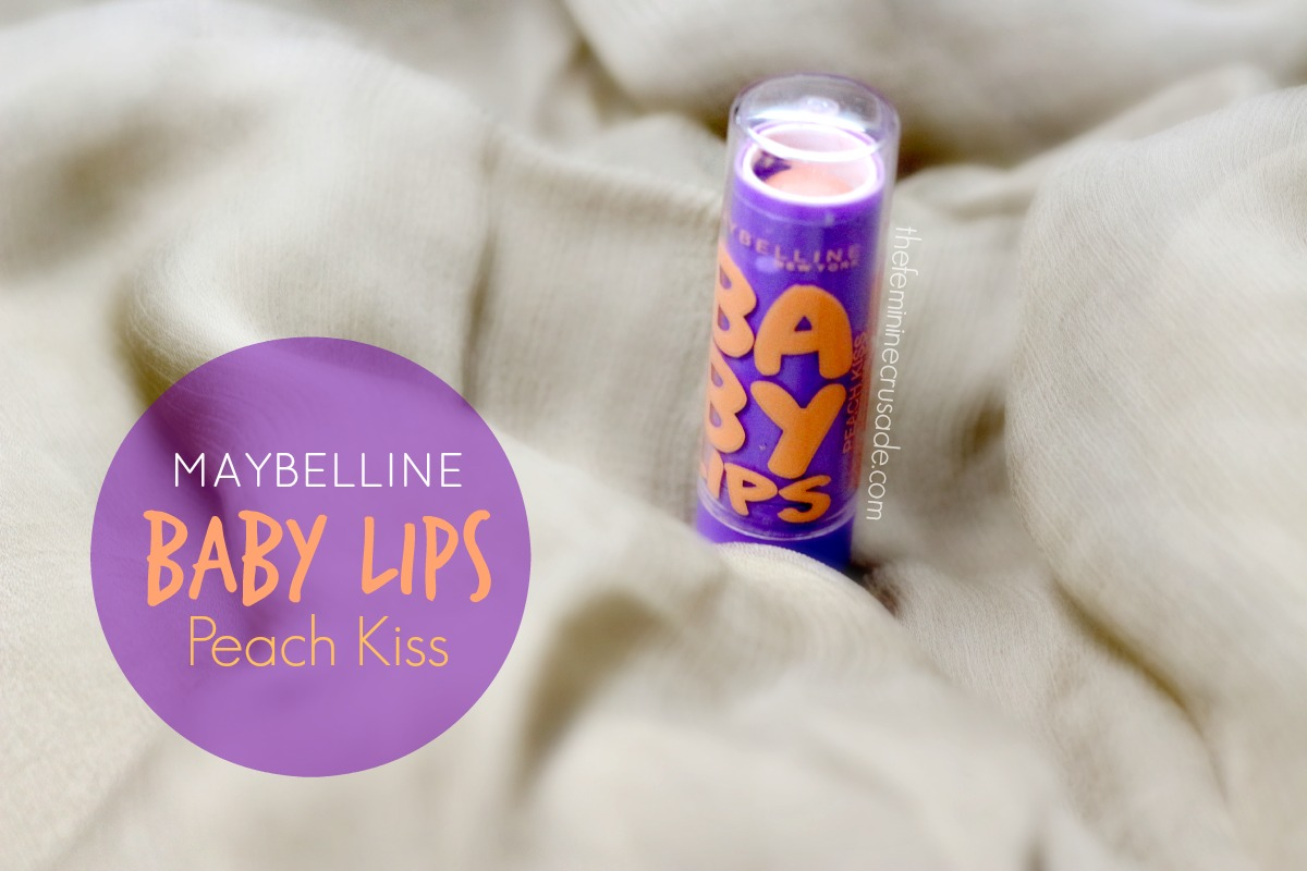 Maybelline Baby Lips in 'Peach Kiss'