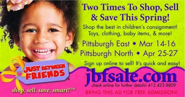 Just Between Friends Children's Consignment Sale!