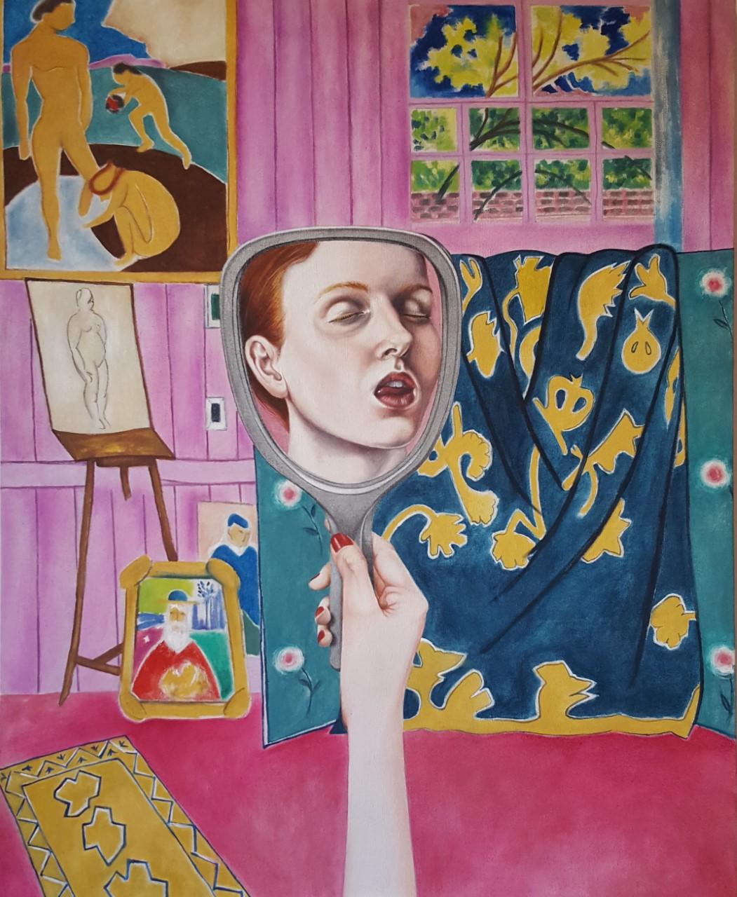 La amante de Matisse. 2017