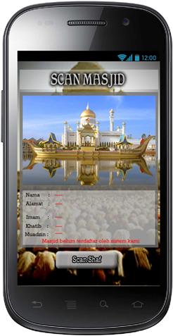 Aplikasi Shaf Finder: Halaman Keterangan Masjid Belum Diidentifikasi