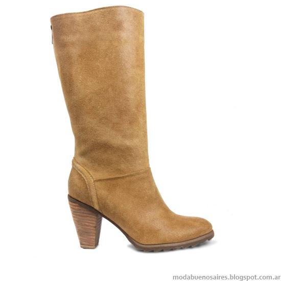 Moda botas caña alta 2013 Blaque