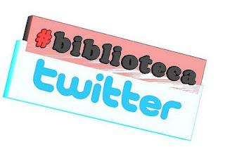 #biblioteca Twitterren