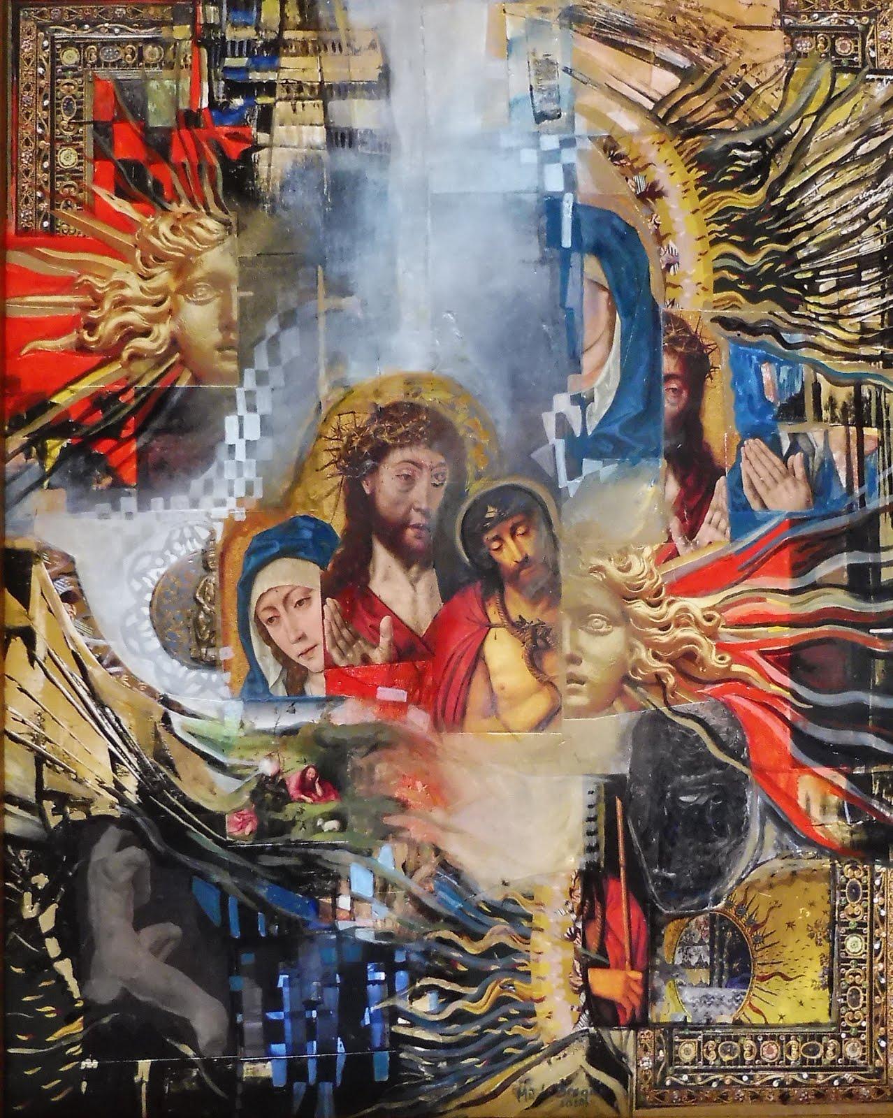 Christ Roi - 40 x 50 cm - 2020