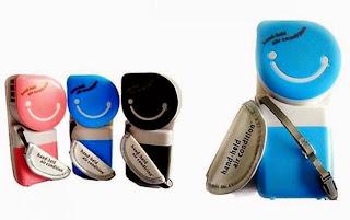 AC mini dengan baterai