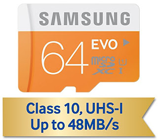 Samsung EVO 64 GB Memory Card