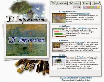 http://ntic.educacion.es/w3/eos/MaterialesEducativos/mem2006/impresionismo/index.html