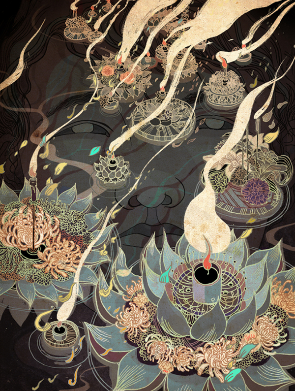 Doctor Ojiplático. Victo Ngai. Editorial Illustration