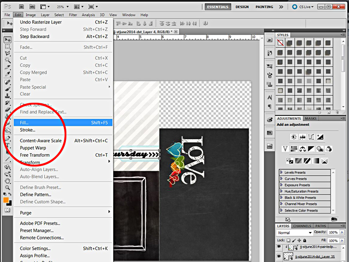 how to make custom cut files photoshop