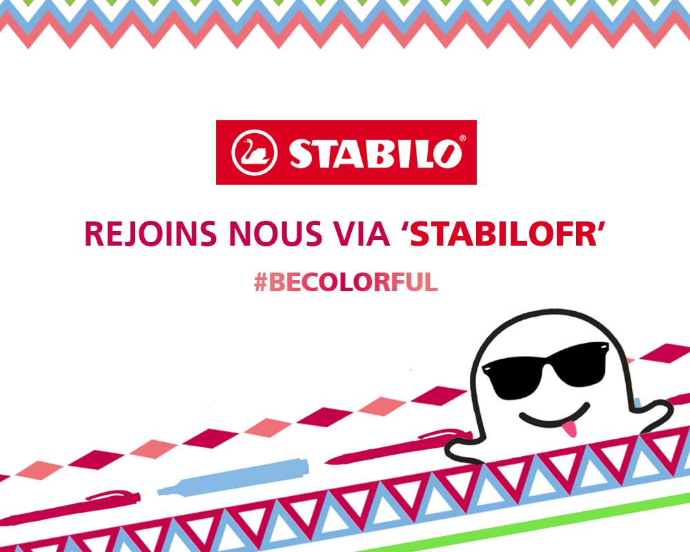 Comment promouvoir sa marque grâce à Snapchat - Stabilo