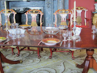 Dining Table in Russborough House, County Wicklow