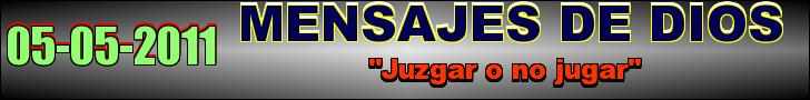 """Juzgar o no jugar"""