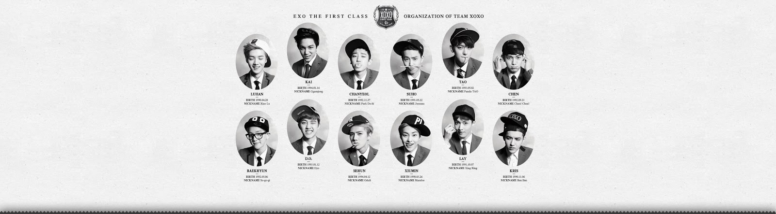 EXO - XOXO Official Background