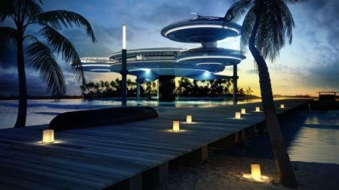 Hotel Bawah Laut yang Super Mewah di Dubai