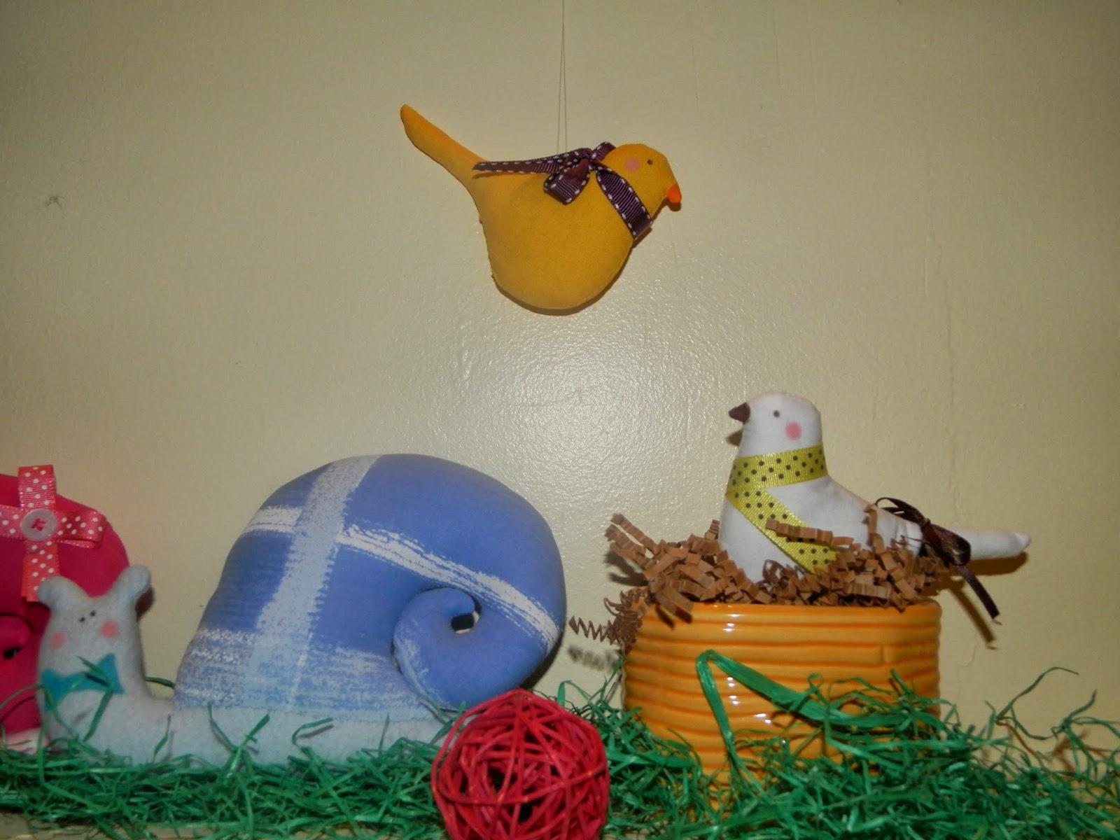Coton et Création : décoration de printemps