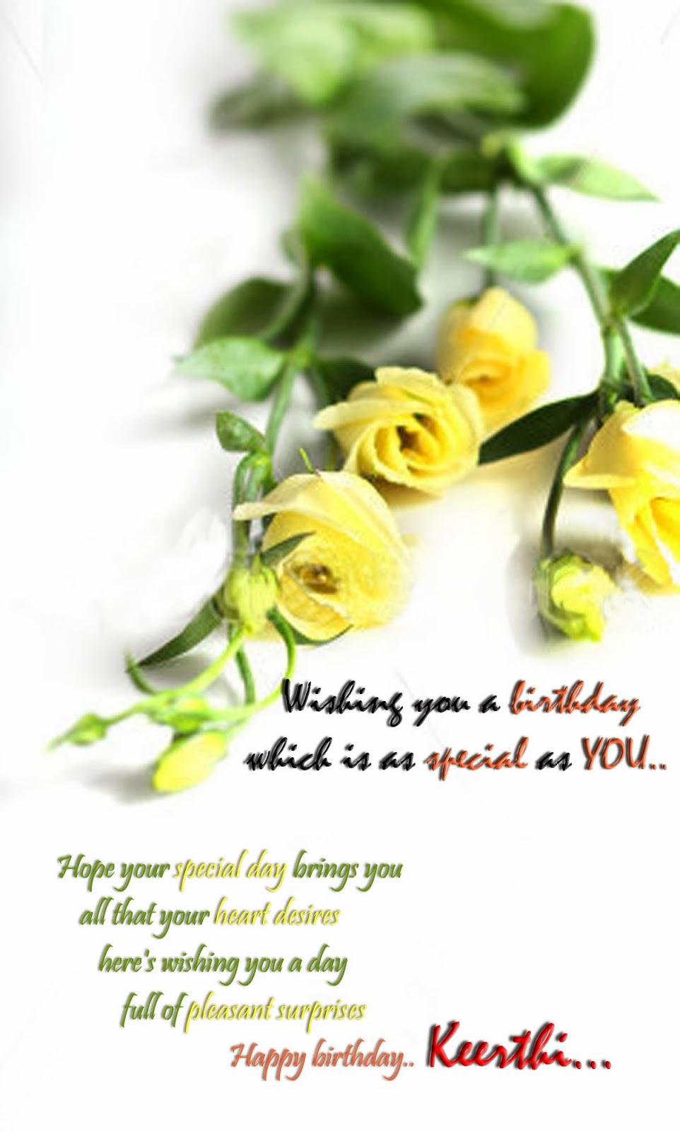 ... of Hosadurga: Many happy returns of the day. Happy Birthday Keerthi
