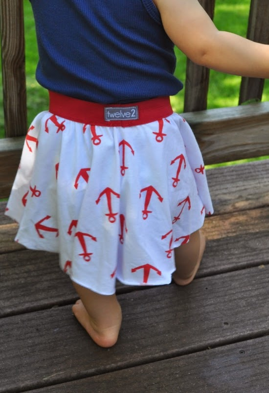 anchor baby skirt