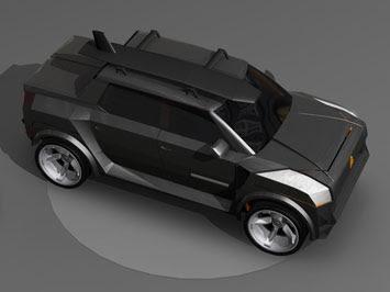 lamborghini truck - LM 400 concept 1