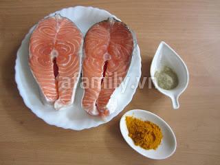 3 bước đơn giản làm cá nướng nghệ thơm lừng