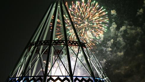 canada day fireworks medicine hat saamis teepee