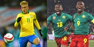 Brasil-Camerún