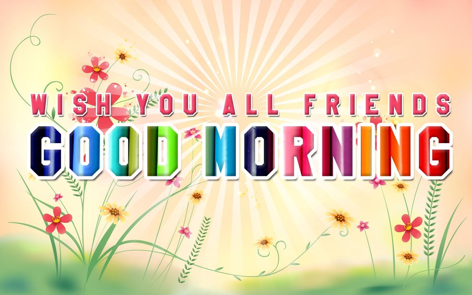 Facebook Good Morning Wallpaper HD Free Download