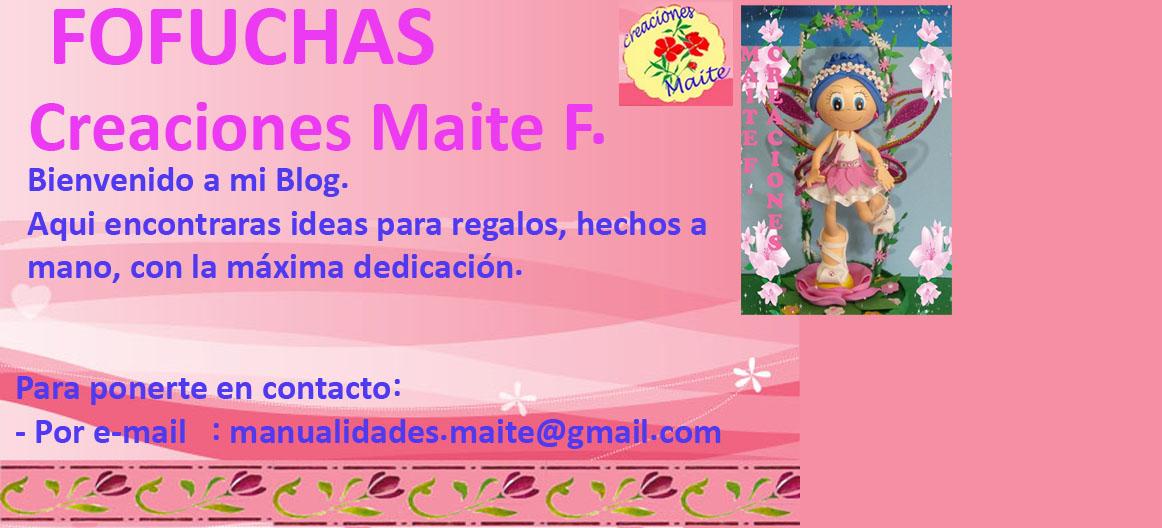 FOFUCHAS. Manualidades y Creaciones Maite