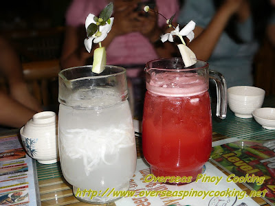 Isdaan sa Calauan - Buco and Watermelon Juice